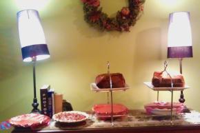 Thanksgiving dessert selection