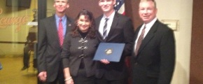 Connor Koehler at his nomination
